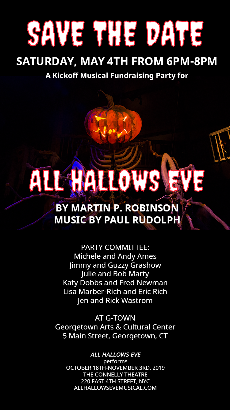 all hallows eve save the date